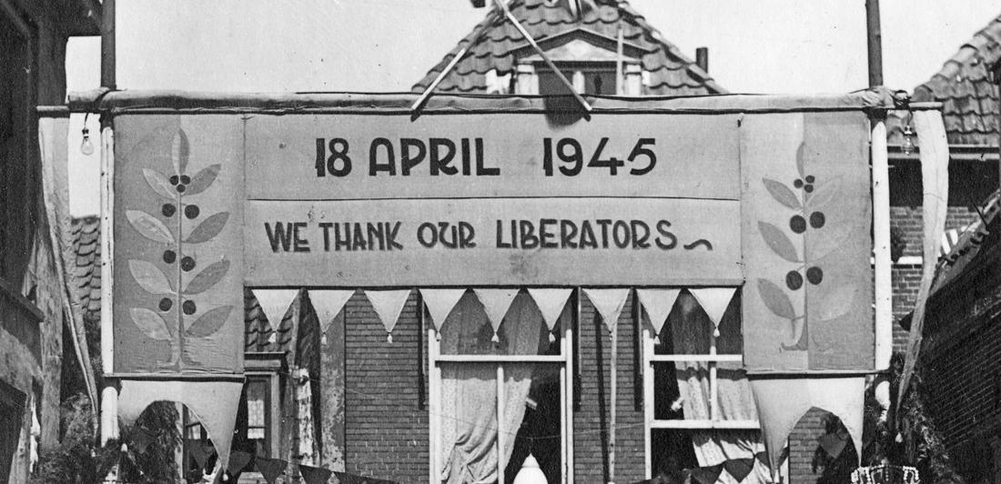 Viering 75 jaar vrijheid in Harderwijk in stilte